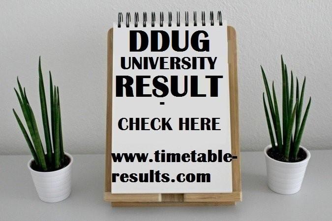 DDUGU Result