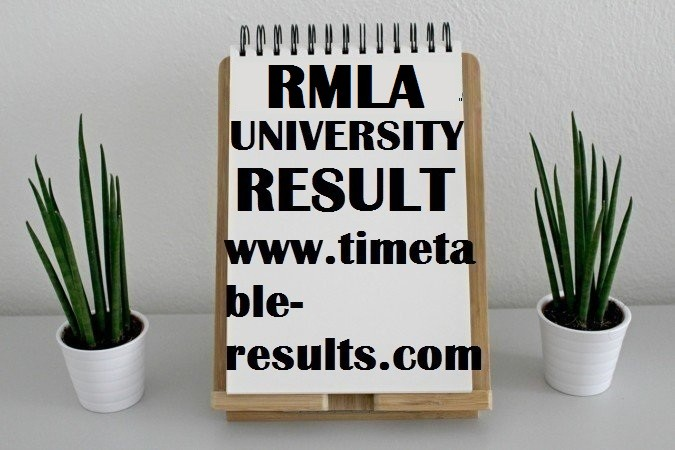 RMLAU Result 2019 | RML Avadh University UG/ PG Result 2019